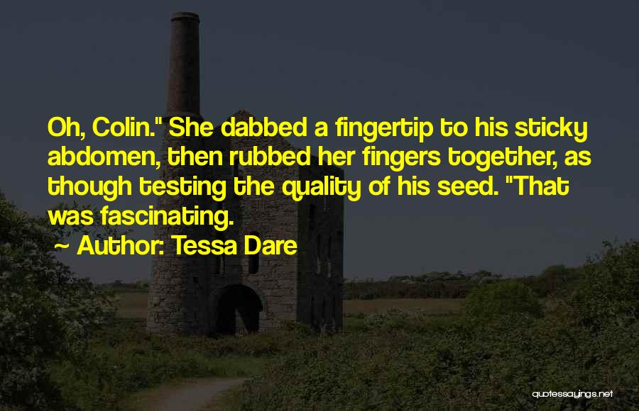Fingertip Quotes By Tessa Dare