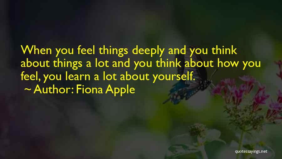 Fiona Apple Quotes 1047771