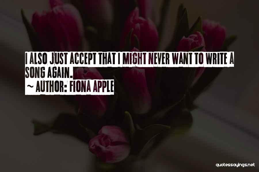 Fiona Apple Quotes 1132456