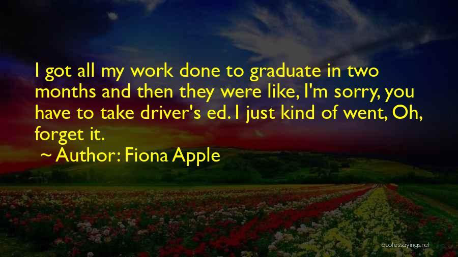 Fiona Apple Quotes 1306229