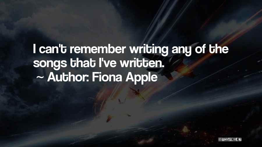 Fiona Apple Quotes 1537224