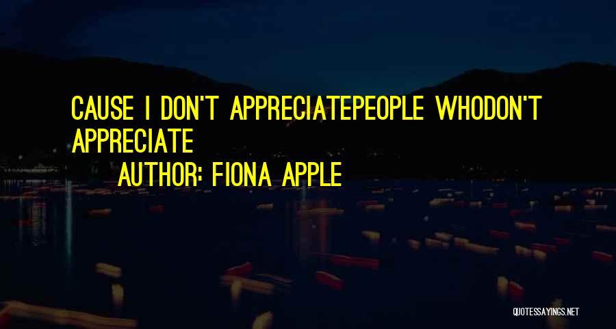 Fiona Apple Quotes 1797727