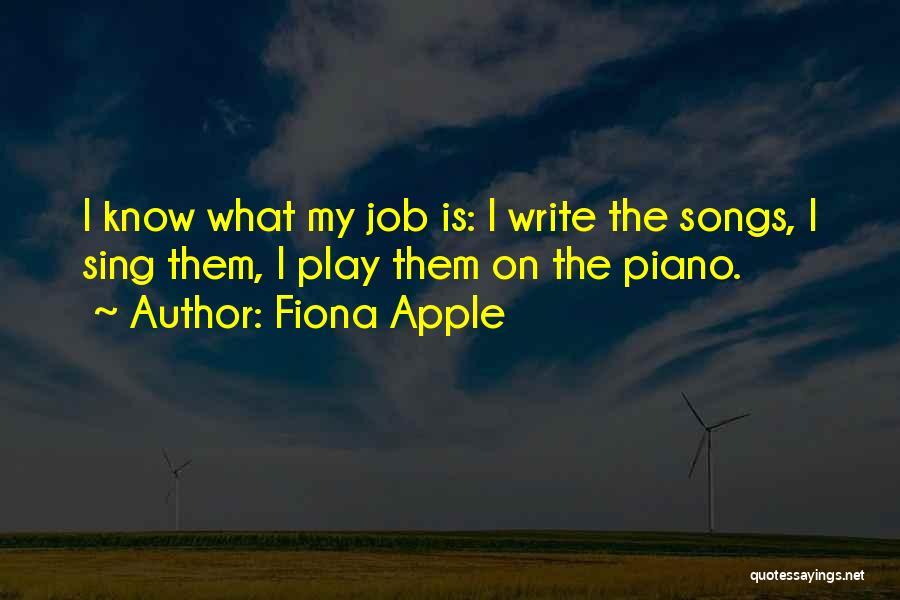 Fiona Apple Quotes 535333