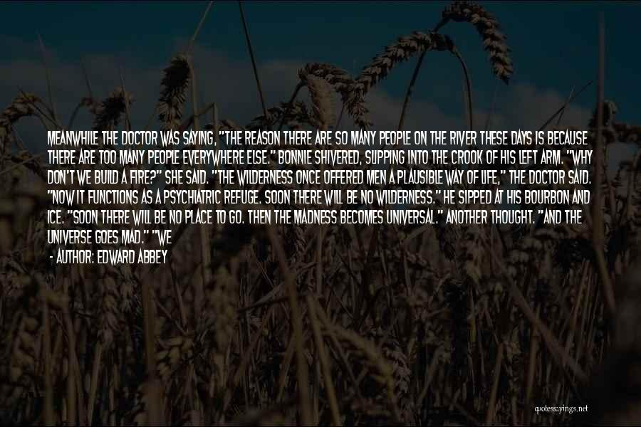 Fire And Ice Quotes By Edward Abbey