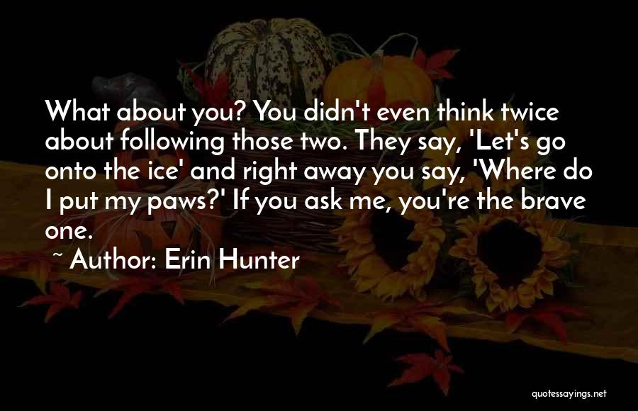 Fire And Ice Quotes By Erin Hunter