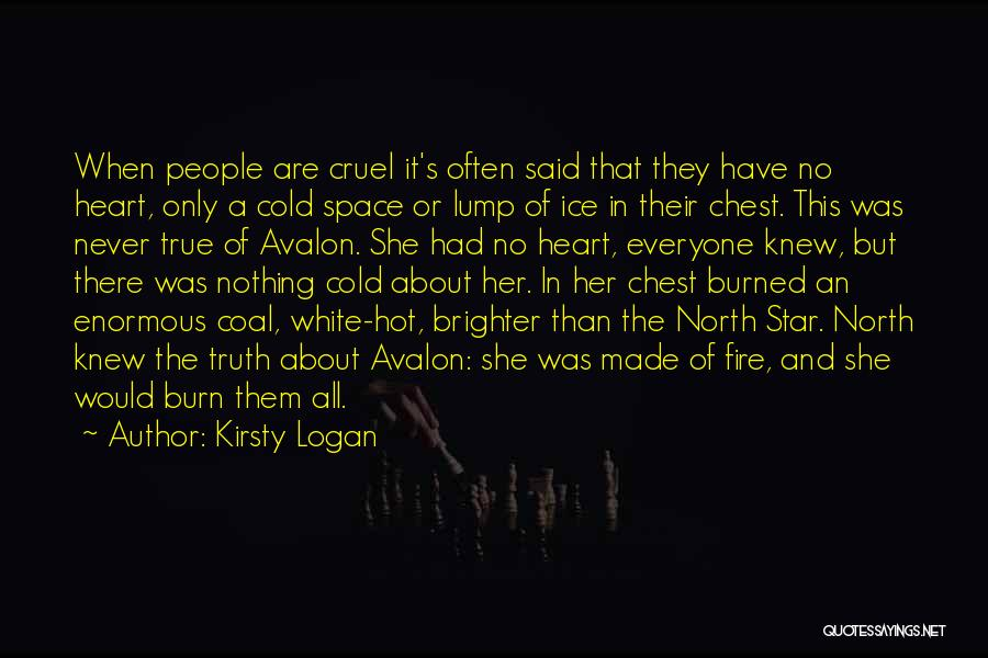 Fire And Ice Quotes By Kirsty Logan