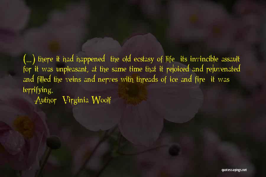Fire And Ice Quotes By Virginia Woolf