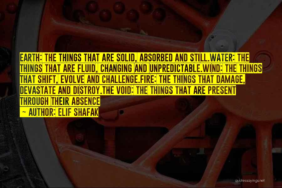 Fire And Water Quotes By Elif Shafak