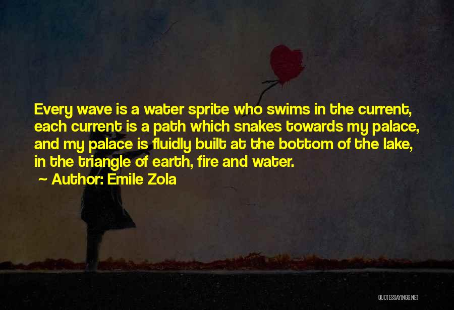 Fire And Water Quotes By Emile Zola