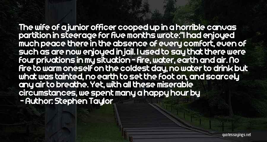 Fire And Water Quotes By Stephen Taylor