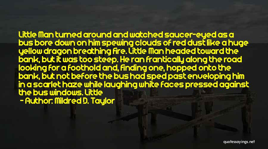 Fire Breathing Dragon Quotes By Mildred D. Taylor
