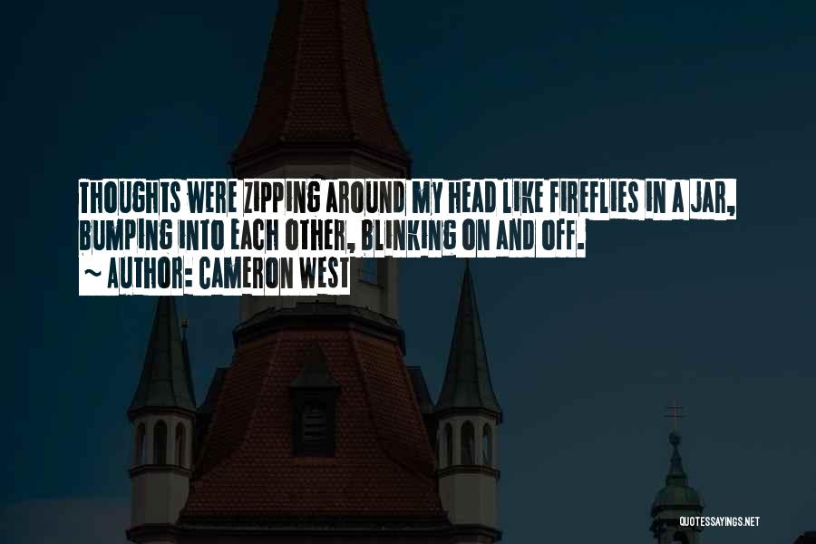 Fireflies In A Jar Quotes By Cameron West