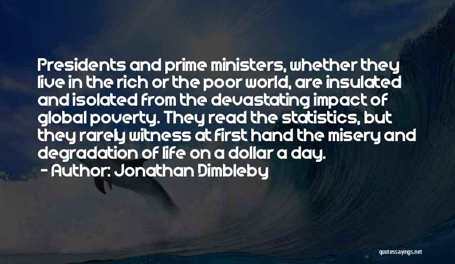 First 5 Presidents Quotes By Jonathan Dimbleby