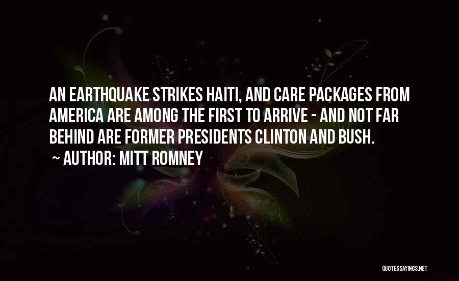 First 5 Presidents Quotes By Mitt Romney