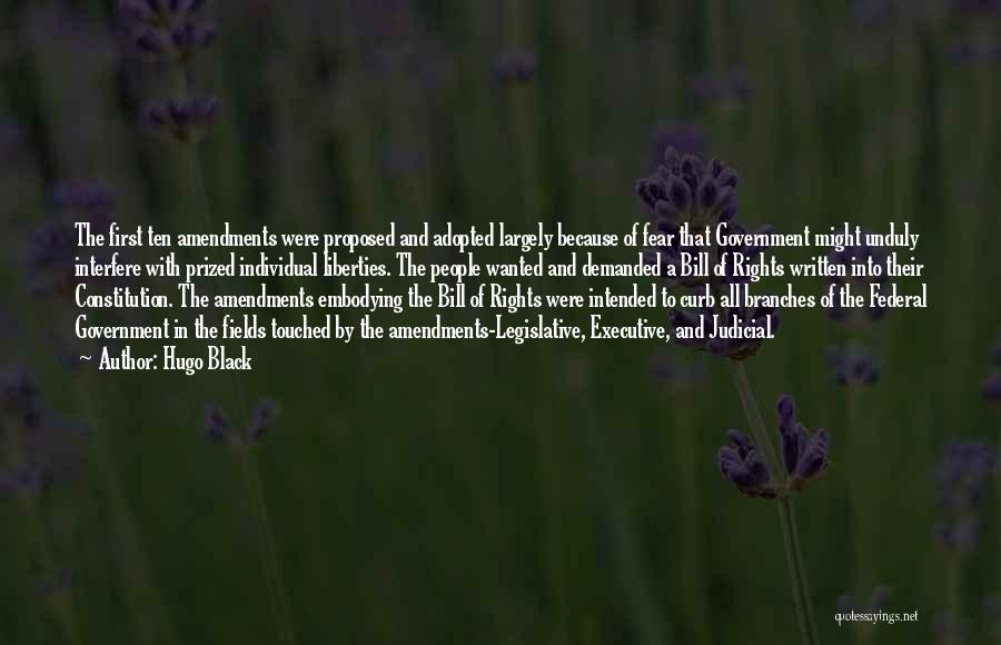 First Amendments Quotes By Hugo Black