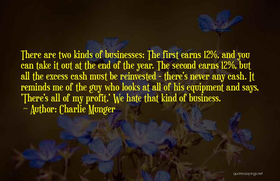 First And Second Quotes By Charlie Munger