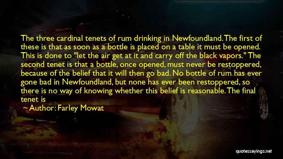 First And Second Quotes By Farley Mowat