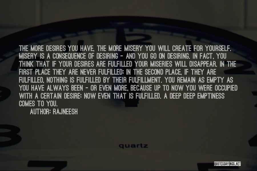 First And Second Quotes By Rajneesh