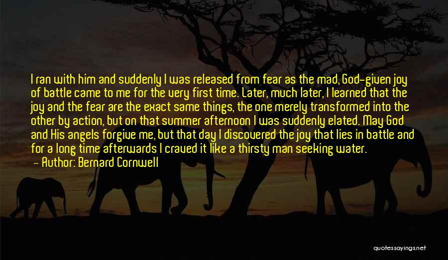 First Day Of Quotes By Bernard Cornwell