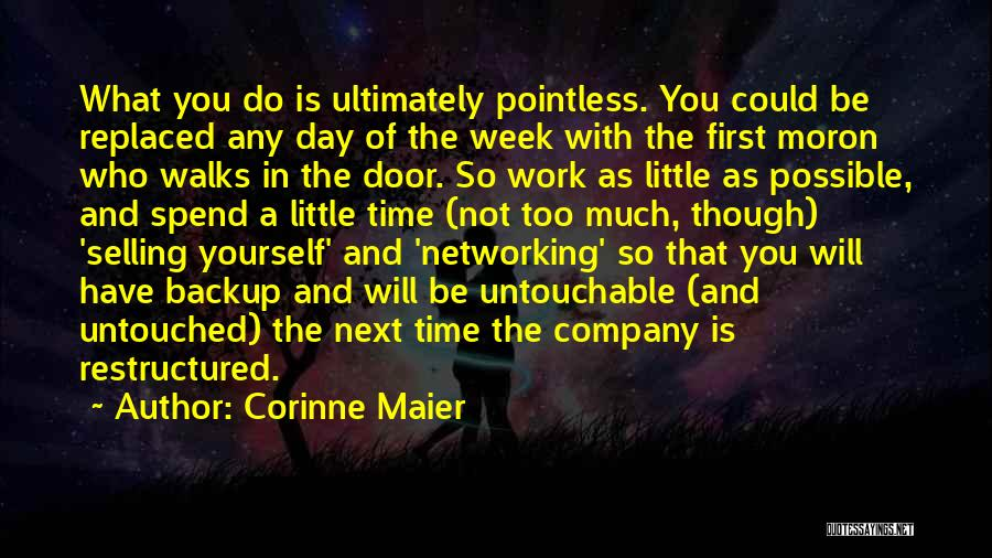 First Day Of Quotes By Corinne Maier
