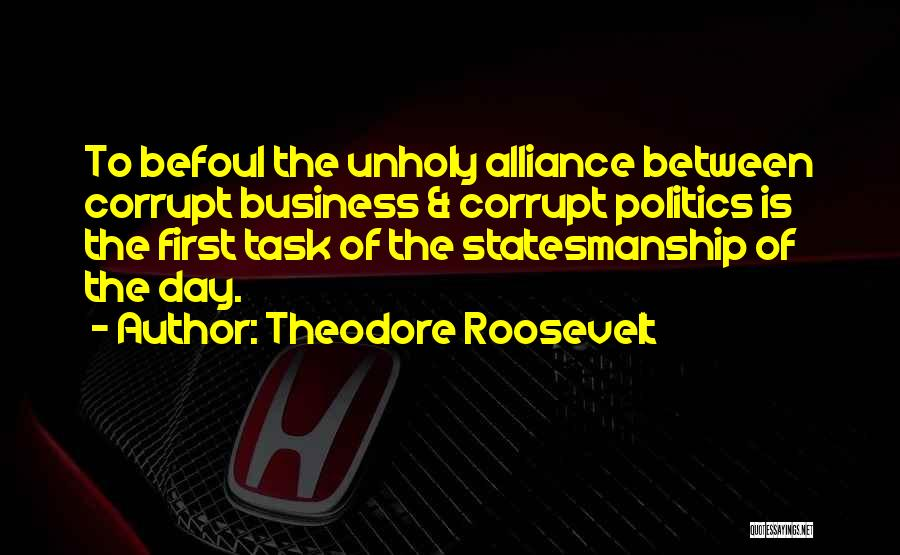 First Day Of Quotes By Theodore Roosevelt