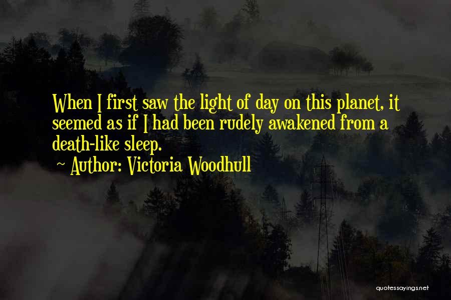 First Day Of Quotes By Victoria Woodhull