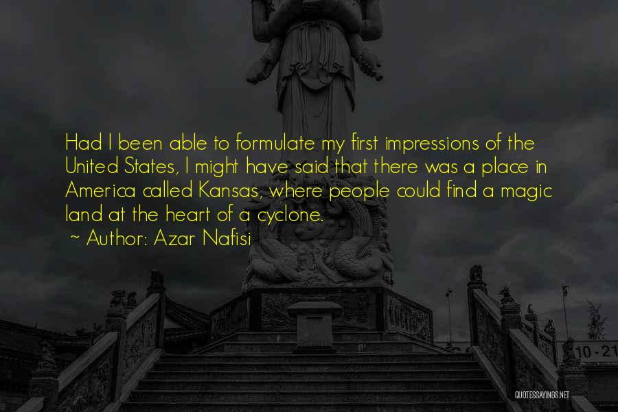 First Impressions Quotes By Azar Nafisi