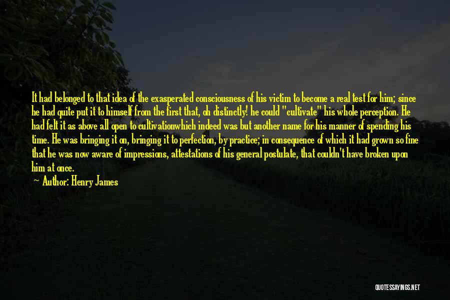 First Impressions Quotes By Henry James