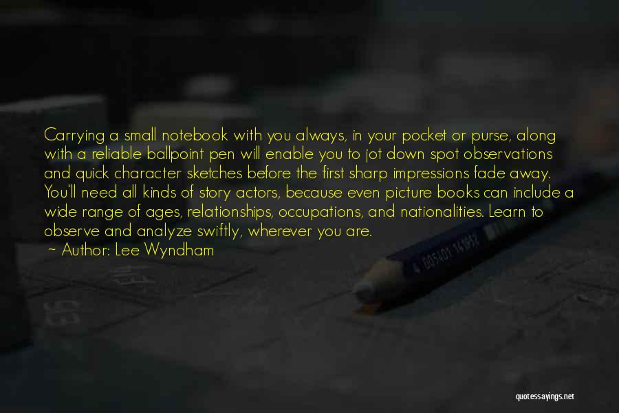 First Impressions Quotes By Lee Wyndham