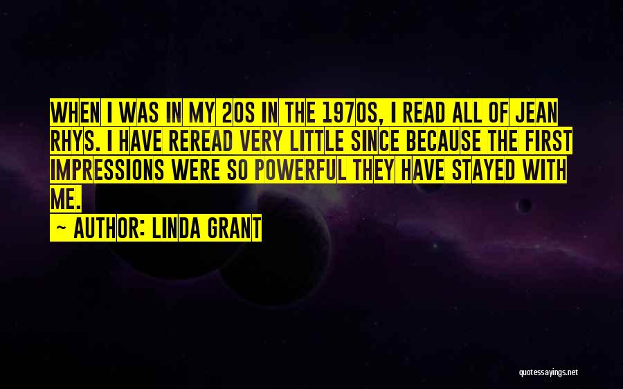 First Impressions Quotes By Linda Grant