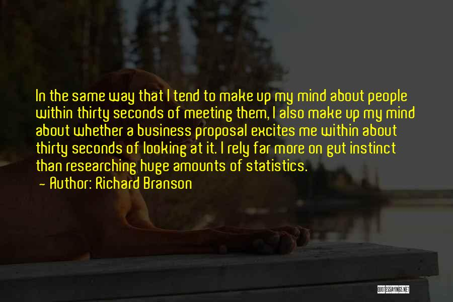 First Impressions Quotes By Richard Branson