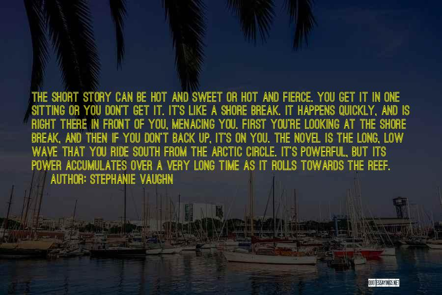 First Interview Quotes By Stephanie Vaughn