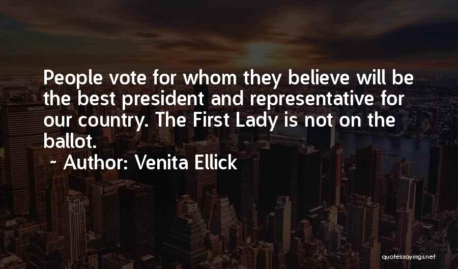 First Interview Quotes By Venita Ellick