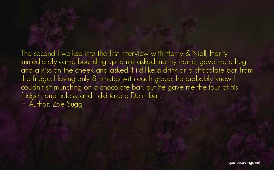 First Interview Quotes By Zoe Sugg