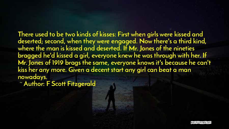 First Kisses Quotes By F Scott Fitzgerald