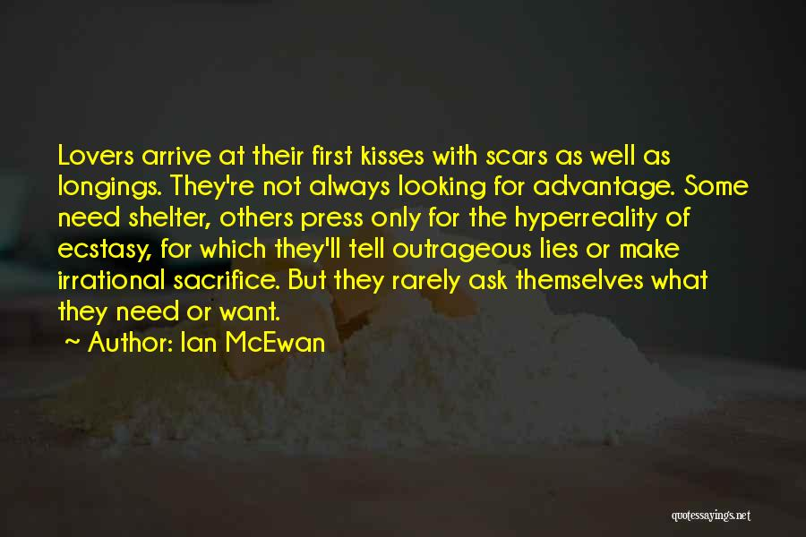 First Kisses Quotes By Ian McEwan