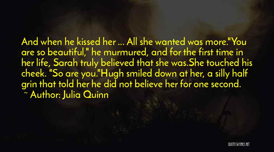 First Kisses Quotes By Julia Quinn
