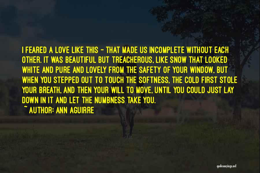 First Snow Quotes By Ann Aguirre