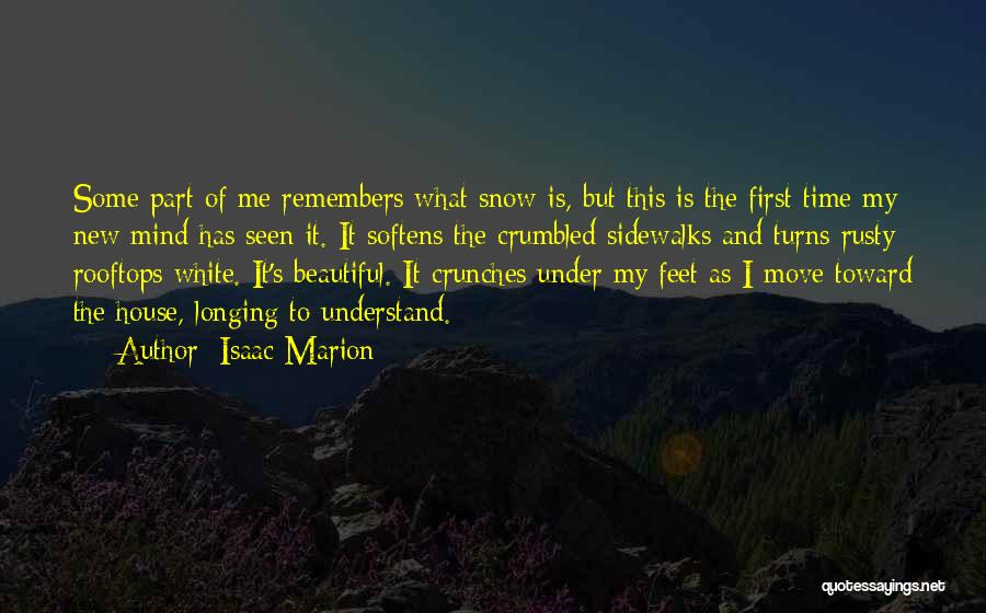 First Snow Quotes By Isaac Marion