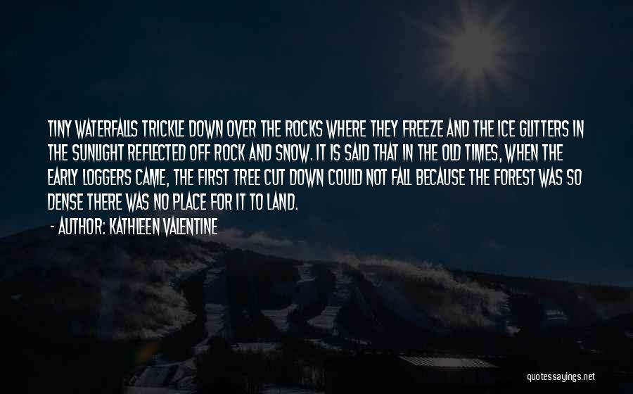 First Snow Quotes By Kathleen Valentine