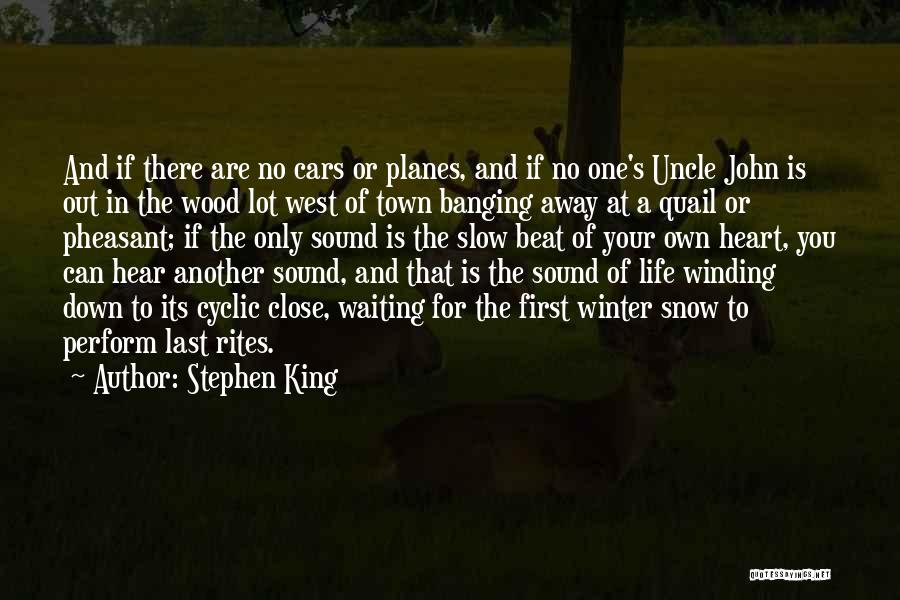 First Snow Quotes By Stephen King