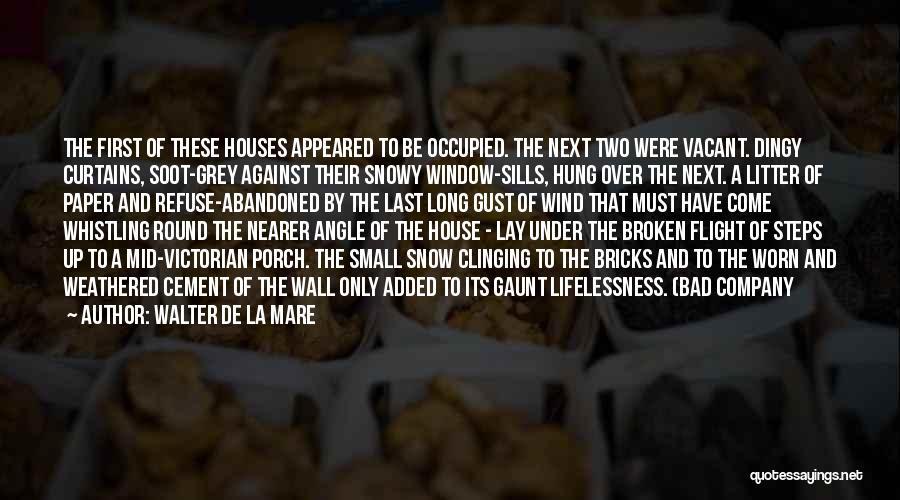 First Snow Quotes By Walter De La Mare