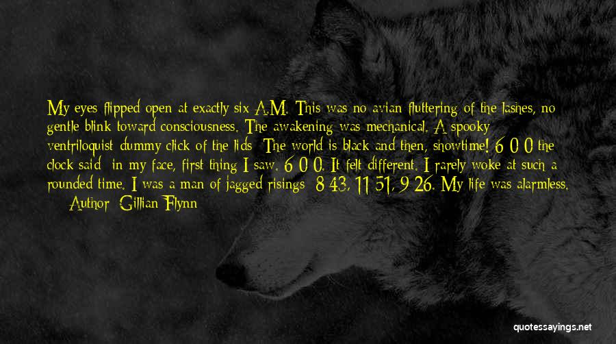 First Time In My Life Quotes By Gillian Flynn