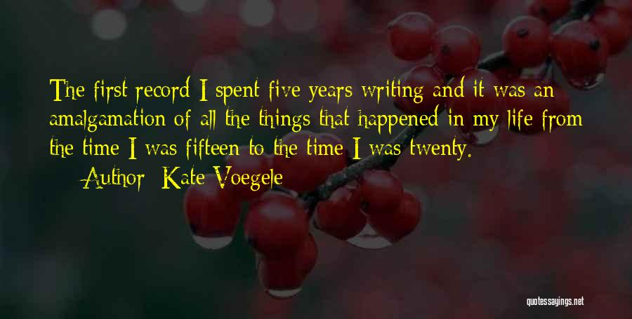 First Time In My Life Quotes By Kate Voegele