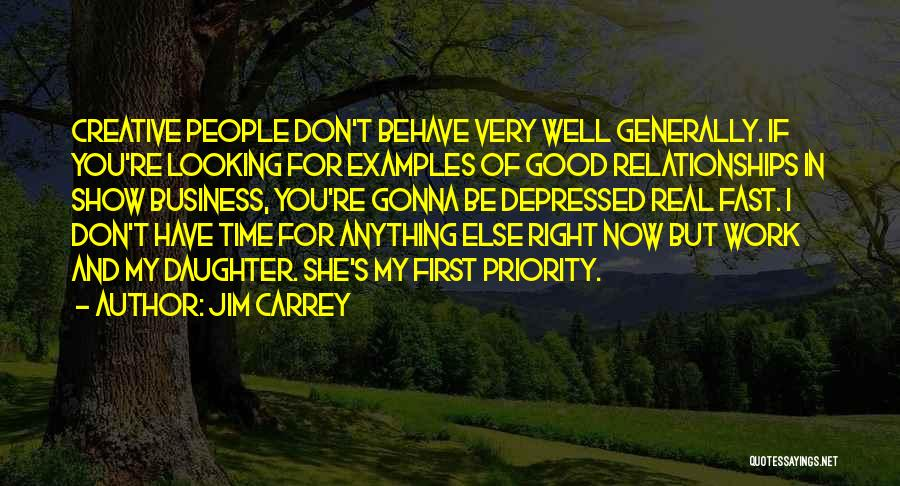 First Time Relationships Quotes By Jim Carrey