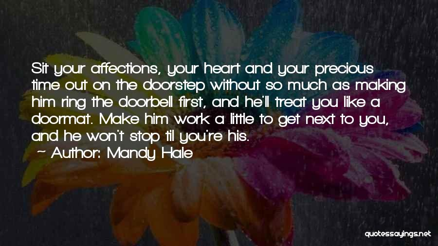 First Time Relationships Quotes By Mandy Hale