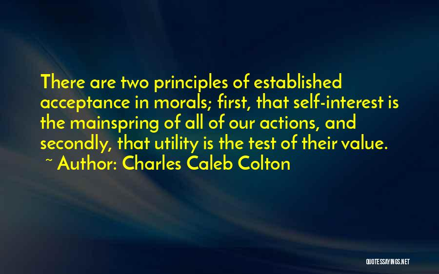 First Utility Quotes By Charles Caleb Colton