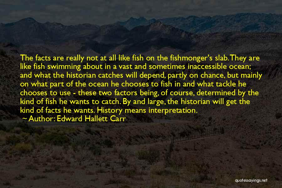 Fish In The Ocean Quotes By Edward Hallett Carr