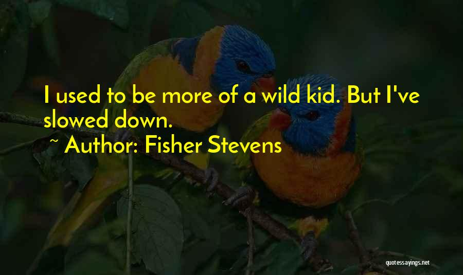 Fisher Stevens Quotes 1279009