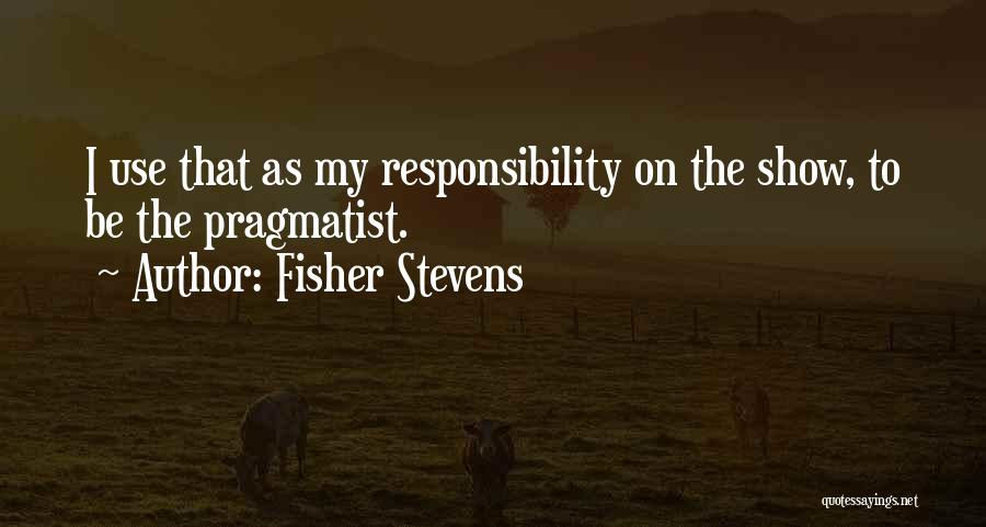 Fisher Stevens Quotes 2013182